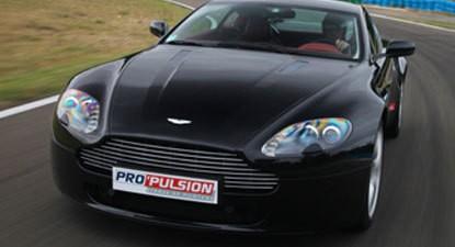 Baptême de Pilotage en Aston Martin V8 Vantage - Circuit de l'Ouest Parisien