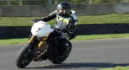 Stage de Pilotage en Yamaha FZ8 - Circuit de Bordeaux-Mérignac