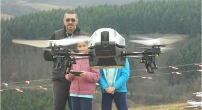 Initiation pilotage drone près de Lyon