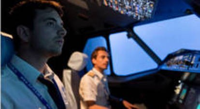 Simulateur d'avion Airbus A320 à Paris