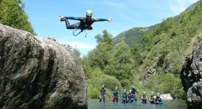 Journée canyoning près de Lourdes