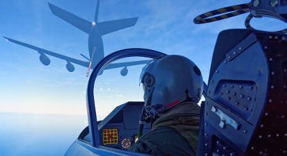 Pack simulateur avion de chasse + ligne près de Nantes