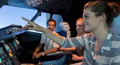 Vol en Simulateur d'avion près de Rennes