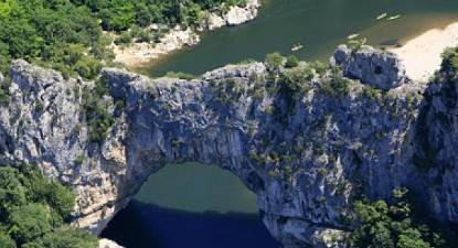 Vol en Hélicoptère : circuit des Gorges à Lanas
