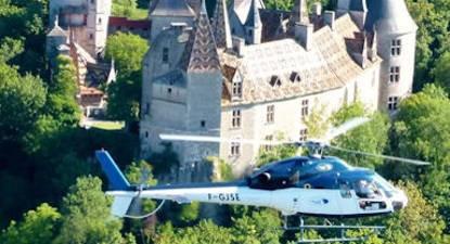 Vol en Hélicoptère à Chalon