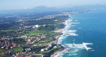 Vol en Hélicoptère à Biarritz