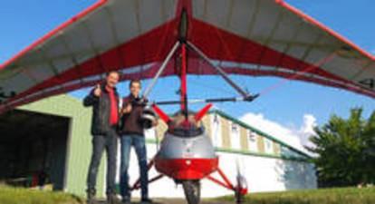 Pilotage d'un ULM près de Vienne