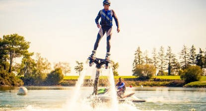 Initiation au Flyboard près de Saint-Nazaire