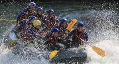 Rafting à Pau