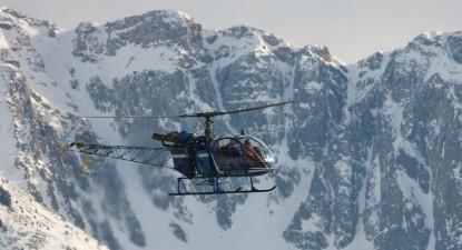 Survol Capcir Hélicoptère