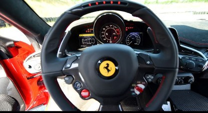 Baptême Passager en Ferrari F458 - Circuit de l'Anneau du Rhin