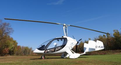 Pilotage d'un ULM près de Reims