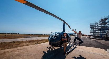 Vol en Hélicoptère au-dessus du Tarn