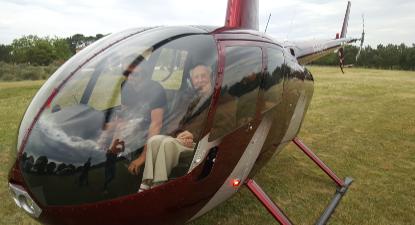 Baptème de l'Air en Hélicoptère à Saint Etienne