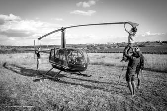Vol en Hélicoptère au-dessus du Vaucluse