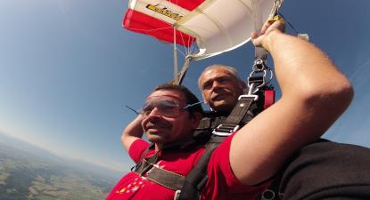 Saut en Parachute Tandem près de Auch