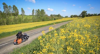 Escapade en moto à la découverte de la Champagne
