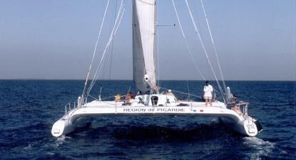 Escapade en Catamaran près de Montpellier