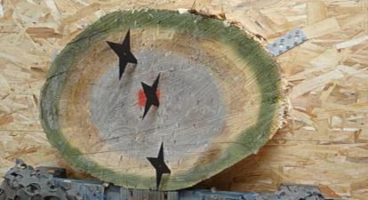 Lancer de hâche, shuriken, couteaux et kunai près de Créteil