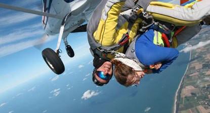 Saut en parachute Tandem en Normandie