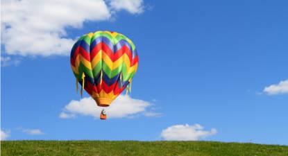Vol en montgolfière à Estrées-Mons