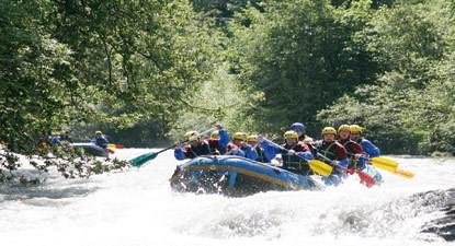 Rafting Pyrénées