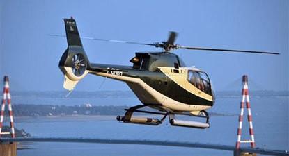 Baptême hélicoptère la Baule