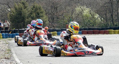 Session de Karting à Lavilledieu